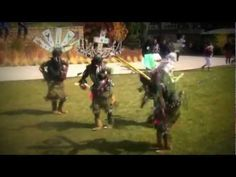 ▶ Real History of the Americas-White Mountain Apache Tribe Crown Dancers - YouTube