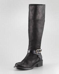 Goatskin Boot by Giorgio Armani at Neiman Marcus.