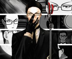 grell-michaelis: Black Butler GIFs 20 Day Kuroshitsuji ChallengeDay 2 - Least Favorite Character? - William T. Spears.