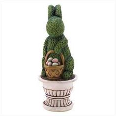 Easter Bunny Topiary