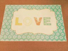 Individual Love Día del Amigo by www.tiendadoilies.com.ar Love, Frame, Home Decor, Friends Day, Friends, Amor, Picture Frame, Decoration Home, Room Decor