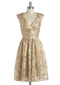 Glittery gold. i'm in love! | #mjbdayinspo