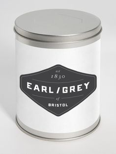 "A visual identity for a fictive company ""Earl/Grey"". The idea was to give the tea ""Earl grey"" a helping hand to become popular again. By Jonathan Faust. Earl Grey Tee, Earl Gray, Tea Packaging, Brand Packaging, Product Packaging, Paper Packaging, Design Packaging, Gig Poster, Identity Design"
