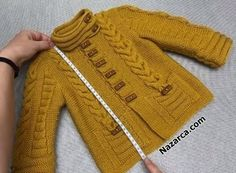 Knitted Baby Cardigan, Knitted Baby Clothes, Knit Vest, Baby Knitting Patterns, Hand Knitting, Embroidery Suits, Knit Fashion, Filet Crochet, Baby Sweaters