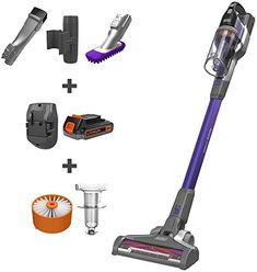 The perfect BLACK DECKER POWERSERIES Extreme Cordless Stick Vacuum for Pets, Purple (BSV2020P) Appliances. [$179.98] findtopbrandsgreat from top store Wicker Storage Trunk, Bench With Shoe Storage, Mattress Sets, Foam Mattress, Extreme Pets, Motorized Blinds, Pet Vacuum, Bathroom Exhaust Fan, Shower Taps