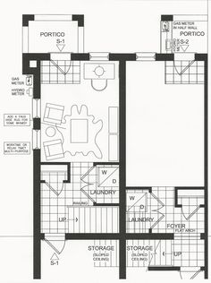 Every great design begins with a furniture plan. Even if you adapt the original you need a starting point to determine furniture sizes and placement. Design: Jo-Ann Capelaci Builder: Geranium Homes Best Home Builders, Half Walls, Workout Rooms, Model Homes, Condominium, Geraniums, Ground Floor, Furniture Plans, Ontario