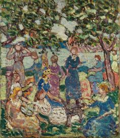 Maurice Prendergast - Picnic by the Inlet