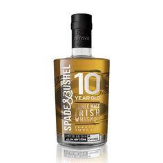 Spade and Bushel 10 year old Single Malt   The Whiskey Companion 10 Year Old, 10 Years, Irish Whiskey Brands, Double Barrel, Irish Men