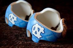 Carolina Tarheel Twin Bands DOC band/Cranial band/helmet  https://www.facebook.com/pages/Cranial-BandsMurals-by-Leigh-Gibson/153150921414230