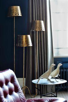 Another cast iron radiator in Notting Hill. Luxury Interior Design, Interior Decorating, Cast Iron Radiators, Shabby Chic Interiors, London House, Notting Hill, Luxury Living, Living Spaces, Living Rooms