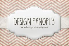 Realistic Patterned Vintage Card and Ribbon | Design Panoply