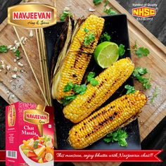 This monsoon ,enjoy bhutta with Navjeevan chat !! #chatmasala #navjeevanspices #navjeevanhing #masala Visit - http://navjeevanhing.com/spices.php