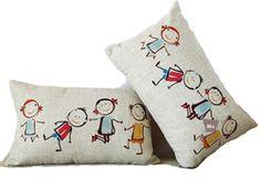 New Fashion Boys & Girls Playing Childhood Modern Art Decorative Lumbar Pillow Case Cushion Cover Sham Great Deal Happy,http://www.amazon.com/dp/B00FEAL6U4/ref=cm_sw_r_pi_dp_280Esb1Q5YY9Z1KX