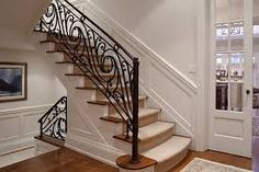 wroughd iorn banisters - Google Search