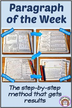 Paragraph Writing Prompts  Paragraph of the Week  How to Write a Paragraph