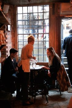 lovely coffee shop - The Smile, in soho, nyc. (fashionable too - a hangout for terry richardson & the mulleavy sisters)