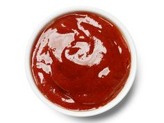 Jerk Ketchup : Mix 3/4 cup ketchup, 2 tablespoons jerk seasoning, 1 tablespoon pineapple or peach preserves and 1 tablespoon lime juice.