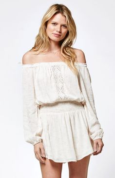 Starlight Off-The-Shoulder Dress