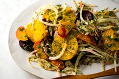 One of the things I love best about this refreshing salad is that it doesn't wilt, making it a a great choice for a potluck or a buffet. There's a nice contrast of textures going on, with the crunchy fennel, soft beets and juicy oranges. The dish has Moroccan overtones, with the combination of oranges and beets, and the cumin in the dressing. (Photo: Andrew Scrivani for The New York Times)