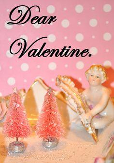 valentine pink bottle brush trees