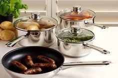4-Piece ProCook Cookware Set