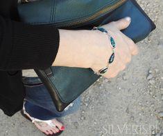 Bransoletka srebrna z Opalem Zielonym - zapraszamy do naszego sklepu! Opal, Bags, Fashion, Handbags, Moda, Fashion Styles, Opals, Fashion Illustrations, Bag