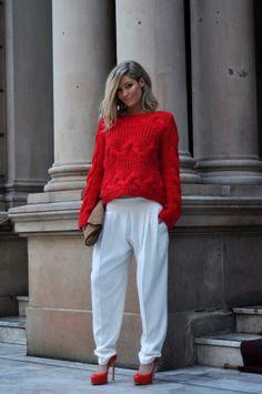 Olá meninas! Vermelho é uma cor muito sensual. Aqui fica algumas dicas de inspiração para o vermelho..