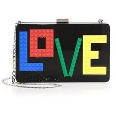 What Your Phrase Clutch Says About You Rainbow Bag, Evening Bags, Slogan, Geek Stuff, Crossbody Bag, Shoulder Bag, My Style, Envy, Footwear