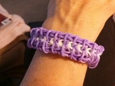 Sarcoidosis rainbow loom bracelet.