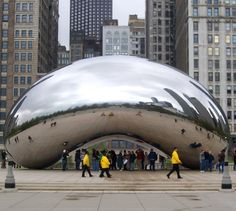 "Anish Kapoor - ""The Bean"" in Chicago"