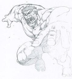jumping hulk by tincan21.deviantart.com on @deviantART