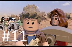 LEGO Jurassic World Game Level 11: Landing Site (Gameplay Walkthrough   HD)