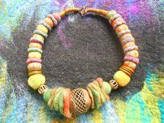 "Kette ""African Feelings"" Preis € 50 Beaded Necklace, African, Jewelry, Earrings, Homemade, Chain, Beaded Collar, Jewlery, Bijoux"