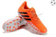 pretty nice de0e8 3ea60 Chaussure de football adidas Predator Absolion LZ TRX AG Orang Blanc Noir  FT9683