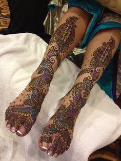 Henna for Yogini. 11.29.13   By tejalhenna