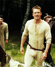 Oh No They Didn't! - Slow West trailer features Fassbender in long johns & great cinematography