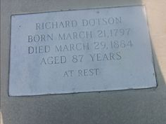 Richard Dotson's final resting place became a runway for Savannah-Hilton Head Airport. S