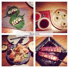 Gaijin: Menu Shibuya