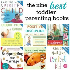 Top 9 Toddler #Parenting Books - from Babble.com