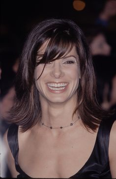 Sandra Bullock Blonde Highlights