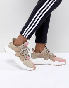 separation shoes 4f497 96448 adidas Originals Prophere Sneakers In Beige And Pink