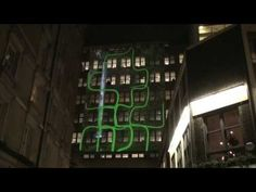 Building Projection Advertising, Video Mapping Demonstration