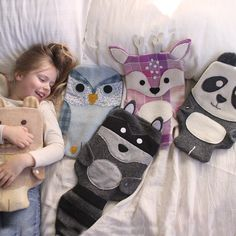 Stay warm the old fashioned way - snuggle up with these cute and cosy hot water bottle critters.  Economical warmth, no fuss and the children love them... My l