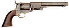 J. H. Dance & Brothers Navy Percussion Confederate Revolver Without Recoil Shield.