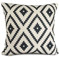 Uphome White and black Series Geometry Polyester Home Decorative... ($3.56) ❤…