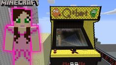 Minecraft: PopularMMos  QBERT ARCADE MACHINE GAME - Notch Land