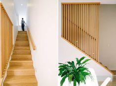 Wooden Banister / Bright Clean Design