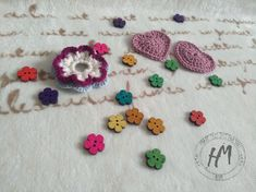 Handmade, made with love, flowerset. Crochet Earrings, How To Make, Handmade, Jewelry, Fashion, Moda, Hand Made, Jewlery, Bijoux