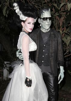 Frankenstein and the Bride of Frankenstein, Len Wiseman and Kate Beckinsale