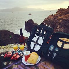 A bare picnic! #bare #picnicwithaview